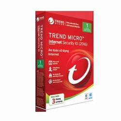 Phần mềm diệt virus Trend Micro Internet Security 2017