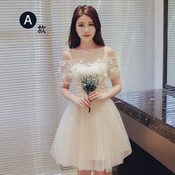 Đầm ren phồng công chúa