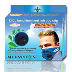 Khẩu trang than hoạt tính cao cấp Neoshield - NSH