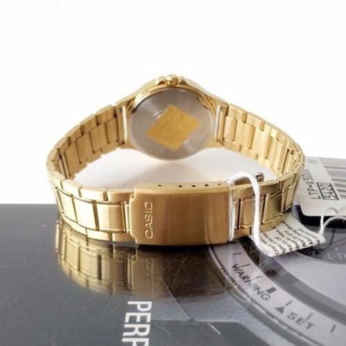 Đồng hồ nữ Casio chính hãng chạy cả 6 kim V300G 12