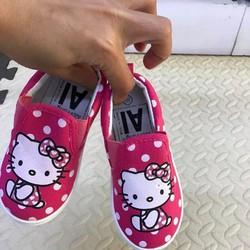 Giầy kitty bé gái 1 - 5 tuổi dáng slipons xinh xắn G4A