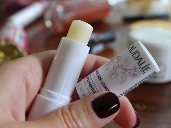 Kết quả hình ảnh cho son dưỡng môi caudalie lip conditioner