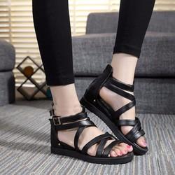 Giày Sandals Chiến Binh Đế Xuồng C55