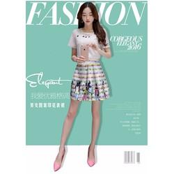 Sét Áo Và Chân Váy Fashion - 3263