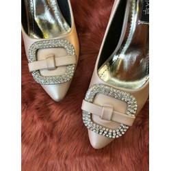 Giày cao gót korea style đính đá