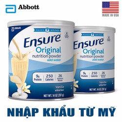 Sữa bột Ensure nhập khẩu từ Mỹ-397gr