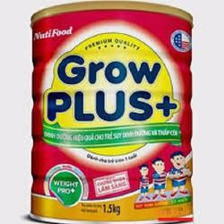 Sữa bột NutiFood Grow Plus+ Đỏ 1500g