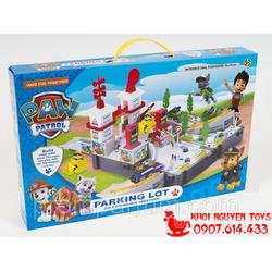 Paw Patrol Toys - Đường Ray Chó Cứu Hộ ZY572