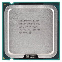 CPU Intel Core 2 Duo E7500