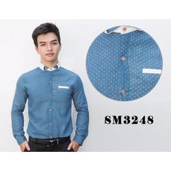 Áo Sơ Mi Nam Tay Dài SM3248