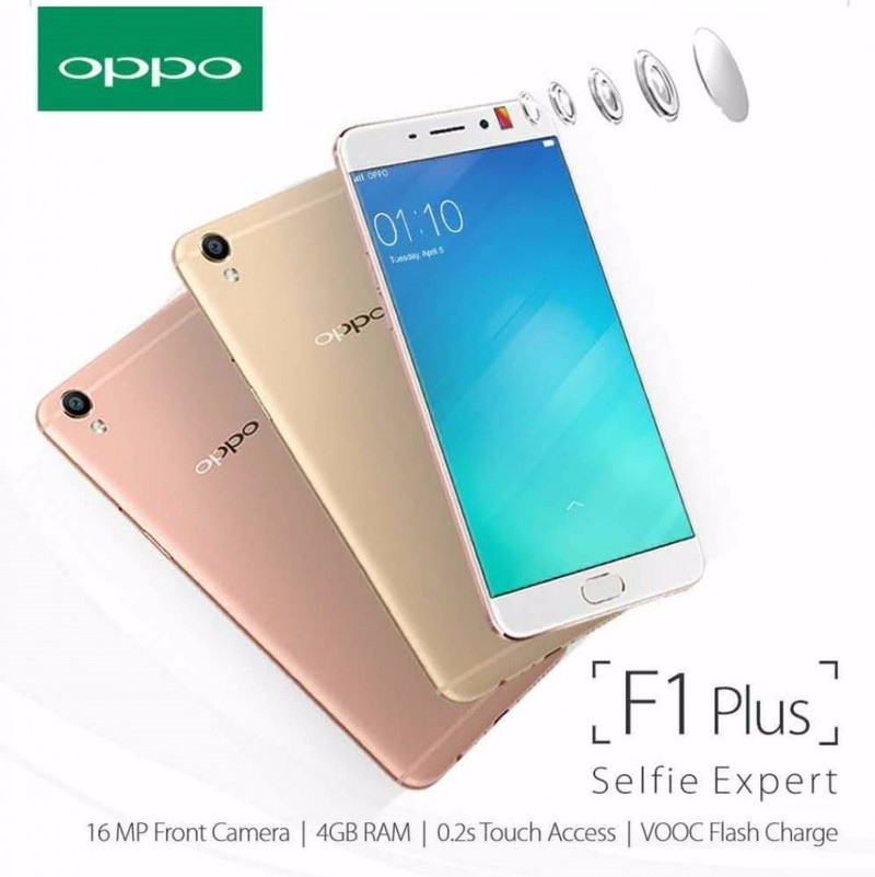 Điện thoại OPPO F1 Plus Gold 6