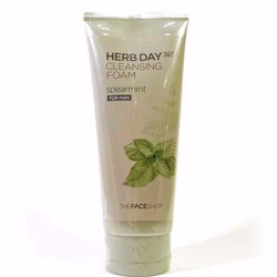 Sữa Rửa Mặt Nam Herb Day 365 Cleansing Foam Spearmint The FaceShop