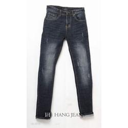 Quần jeans nam ống côn mài xước nhẹ 16-J916