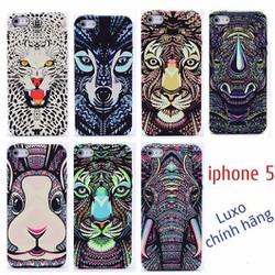 Ốp lưng iphone 5, 5s, SE hình thú Luxo chính hãng