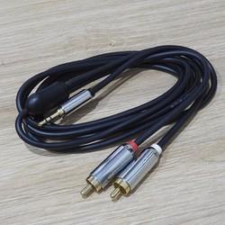 cáp âm thanh Nhập Mỹ - AUX 3 ly ra bông sen MonoPrice