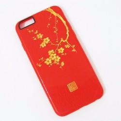 Ốp lưng cho iPhone 6 6S hình cành mai. MUA 1 TẶNG 1