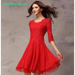 Đầm xòe thời trang DV247