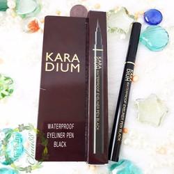 Kẻ mắt nước Karadium Waterproof Eyeliner Pen Black