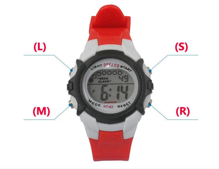 Đồng hồ điện tử trẻ em NC789 1