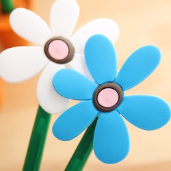 bút bi chậu hoa