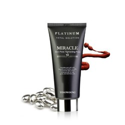 Mặt nạ trị mụn thu nhỏ lcl Platinum Miracle Pore Tightening Pack Toso