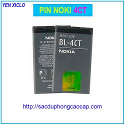 Pin Noki 4CT Dùng Cho Noki 6700s Nắp Trược