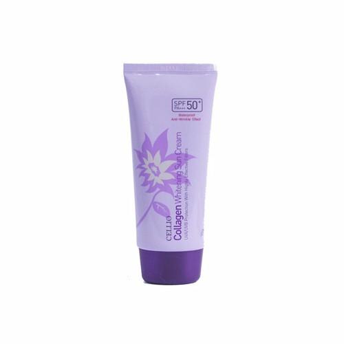 Kem Chống Nắng Cellio Collagen Whitening Sun Cream SPF 50PA+ 70g - 4173558 , 5010884 , 15_5010884 , 75000 , Kem-Chong-Nang-Cellio-Collagen-Whitening-Sun-Cream-SPF-50PA-70g-15_5010884 , sendo.vn , Kem Chống Nắng Cellio Collagen Whitening Sun Cream SPF 50PA+ 70g