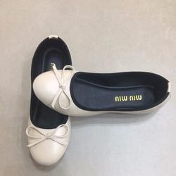 Giày búp bê đính nơ cực êm chân