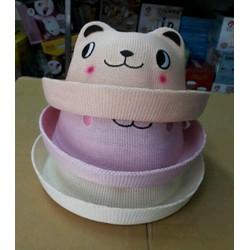 Mũ gấu ngộ nghĩnh Hàn Quốc cho bé