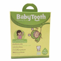 40 Túi Trữ Sữa BabyTooth 250ml - Thái Lan