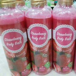 Sữa Tắm Trắng Thái Lan Strawberry Body