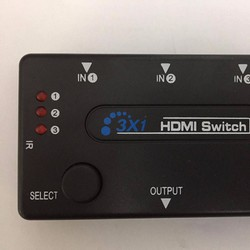 Bộ gộp HDMI 3 IN 1 OUT có remote