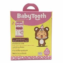 30 Túi Trữ Sữa BabyTooth 175ml - Thái Lan