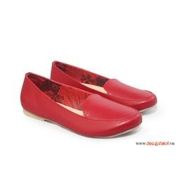 Giày búp bê màu đỏ