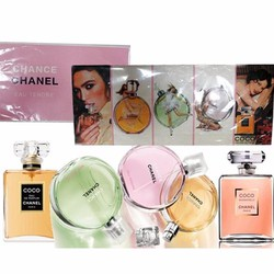Bộ Combo Nước Hoa Chanel-Chance 5 chai mini