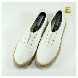 Giày lười vải | Slip on nam kiểu xỏ dây đế bo đay mã 7252