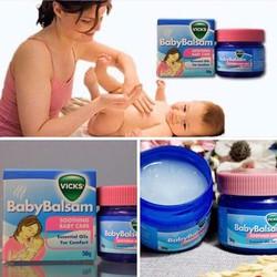 Dầu thoa giữ ấm - Vicks Baby Balsam