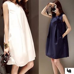 Đầm Bầu Suông Trơn Nữ LA Fashion