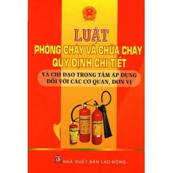 Luật Phòng Cháy Và Chữa Cháy