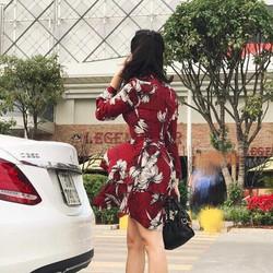 Váy hoa Quảng Châu