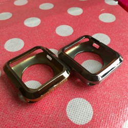 Apple Watch 42mm-Ốp nhựa dẻo bảo vệ 2 mặt trên dưới đồng hồ
