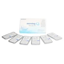 Kính áp tròng trắng 3 tháng Ultra soo chất liệu hioxilfilcon A