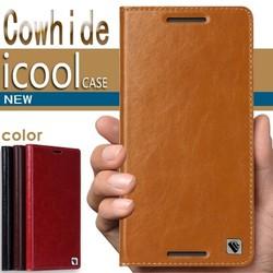Bao da One M9 hiệu Icool Leather 100 da bò thật