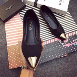 Giày búp bê mũi sắt