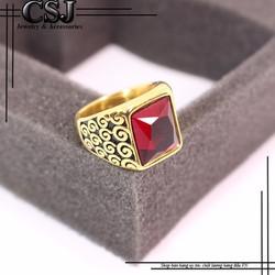 Nhẫn inox nam đẹp cao cấp giá tốt mẫu N547