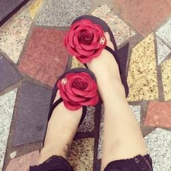 Dép hoa Thái Lan xinh xắn