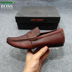 Giày lười da cao cấp HUGO BOSS xuất khẩu