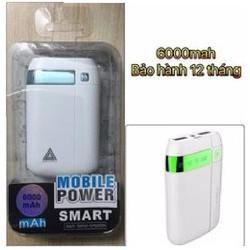Pin Sạc Dự Phòng PowerBank 6000mha