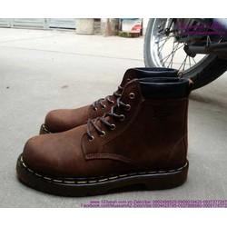 Giày da nam Doctor cổ cao phong cách sành điệu GDNHK129