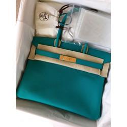 Túi xách Herme.s birkin xanh ngọc
